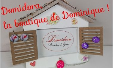 Project visual Domidora, la boutique de Dominique