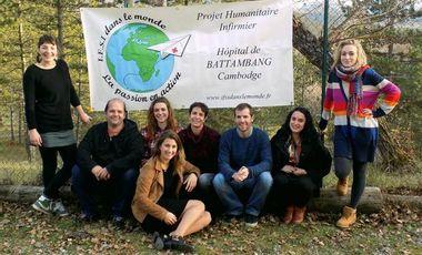 Visuel du projet Le projet humanitaire d'étudiants infirmiers au Cambodge