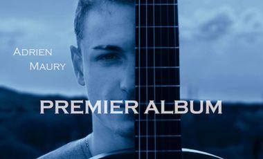 Visuel du projet Adrien MAURY : Premier Album
