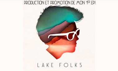 Visuel du projet 1er EP de Lake Folks