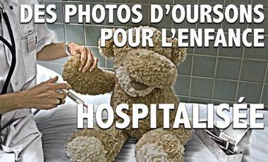 Visueel van project Des photos d'oursons pour l'enfance hospitalisée