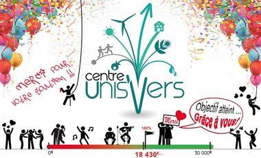 Visuel du projet centre UnisVers