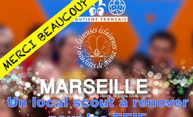 Visuel du projet UN LOCAL SCOUT A RENOVER POUR LES EEIF DE MARSEILLE