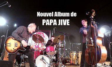 Visueel van project PAPA JIVE : nouvel album