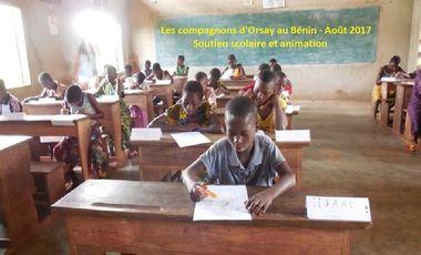 Visuel du projet Projet compagnon de soutien scolaire au Bénin