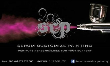 Project visual SCP Serum Customize Painting ( Customisez votre vie! )