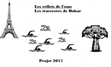 Project visual DAKAR à la nage
