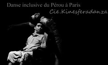 Project visual Danse inclusive du Pérou à Paris