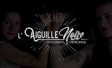 Visuel du projet L'Aiguille Noire: salon de tatouages et piercings