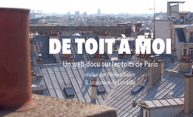 Project visual De Toit à Moi, le web-docu
