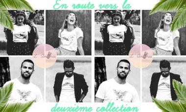 Visuel du projet L'Ananas - T-shirts imprimés avec des dessins à la main