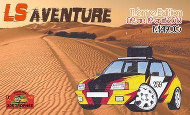 Project visual LS Aventure - 205 Trophée Rally Raid