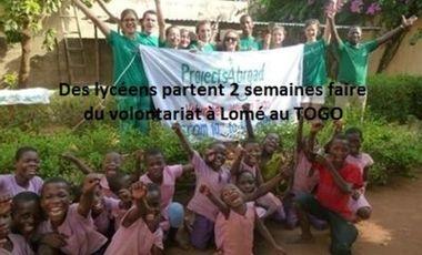 Visueel van project Des lycéens volontaires au TOGO