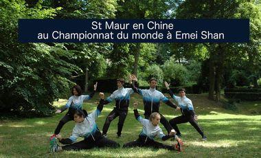 Project visual St Maur en Chine au championnat du monde à Emei Shan (Chine)