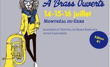 Project visual A Brass Ouverts - Académie et Festival de Brass Band