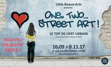 Project visual One, Two… Street art !