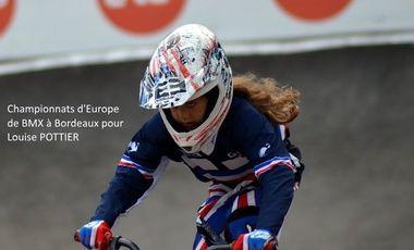 Visueel van project BMX : Championnats d'Europe pour Louise POTTIER