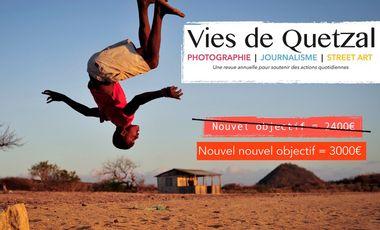 Project visual Revue#3 - Vies de Quetzal