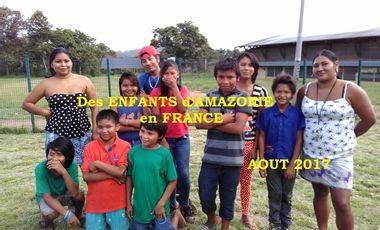 Visuel du projet Des enfants d'Amazonie en France