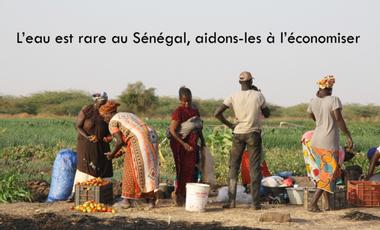 Project visual L'eau est rare à Nianing (Sénégal), aidons-les à l'économiser !