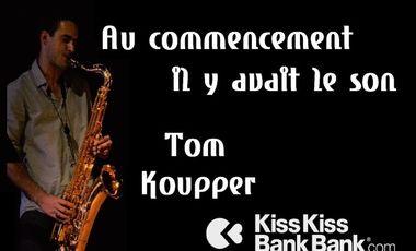Visueel van project Nouvel album de Tom Koupper: ''Au commencement il y avait le son''