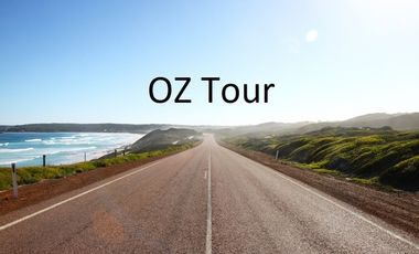 Project visual OZ Tour : Accompagnez moi en Australie!