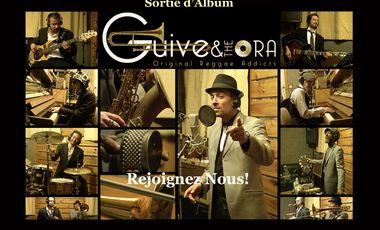 Visueel van project GUIVE & the ORA - Sortie d'album