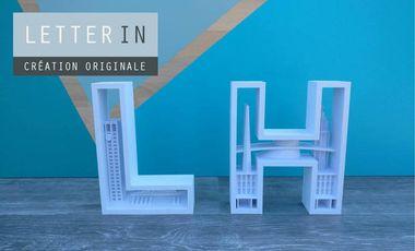 Visueel van project LetterIN