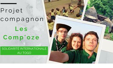 Project visual Go to TOGO pour les Comp'oze