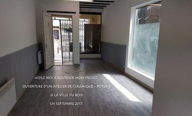 Visueel van project Ouverture d'un atelier de céramique - poterie