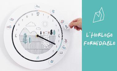 Project visual L'horloge Formidable