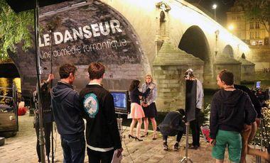 Visuel du projet Tournage du film Le Danseur