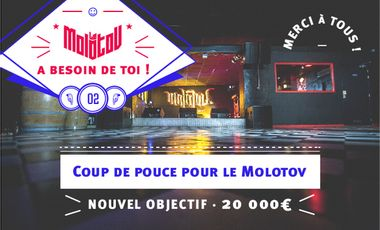 Visueel van project Coup de pouce pour Le Molotov