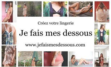 Visuel du projet Je fais mes dessous...créez votre lingerie!!