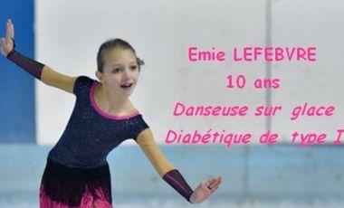 Project visual Un Podium aux Championnat de France de Danse sur glace 2018