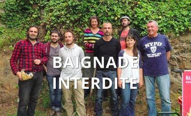 Visuel du projet BAIGNADE INTERDITE difennet neuial théâtre-écolo !