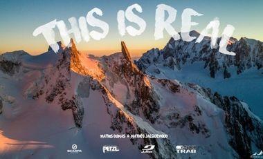 """Visueel van project """"THIS IS REAL""""  - le film"""