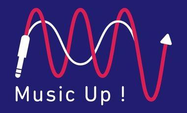 Visuel du projet Music Up ! - La rencontre du monde musical de demain