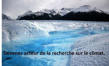 Project visual Devenez acteur de la recherche sur le climat.