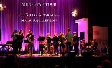 Project visual NHF TOUR - Tournée 2017 - De Strasbourg à Avignon