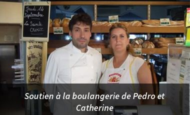 Project visual Soutien à la boulangerie de Pedro et Catherine