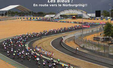 Visueel van project Les Bleus : ils remettent ça aux Nürburgring