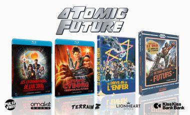 Visueel van project Atomic Future - 2 blu-ray, 1 livre et 1 DVD post-apocalyptiques