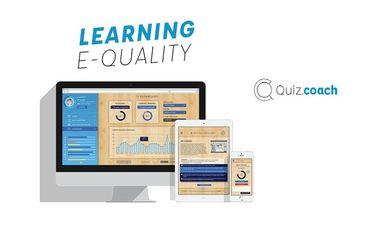 Visueel van project Quiz.Coach, la réussite en poche pour tous !