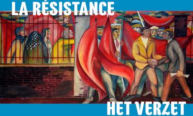 Visuel du projet het Verzet  / la Résistance - Muurschildering / Peinture murale