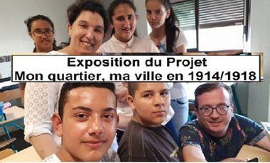 Visueel van project Exposition Projet Mon quartier, ma ville en 14/18