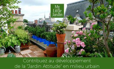 """Project visual La """"Jardin Attitude"""" à la portée de tous"""