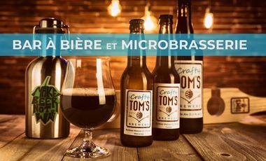 Project visual Bar à bière et microbrasserie