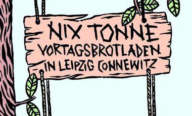 Project visual NIX TONNE. - Vortagsbrotladen & Café
