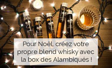 Project visual Créez votre assemblage de whiskies avec Les Alambiqués